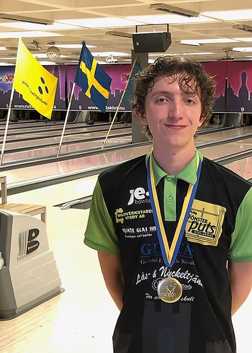 Emrik vann SM-guld!